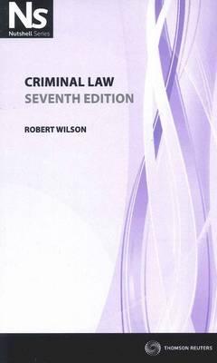 Nutshell: Criminal Law 7th Edition