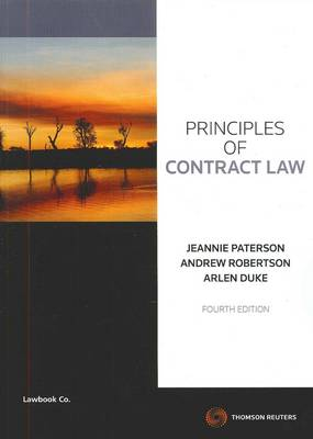 Principles of Contract Law 4th Edition
