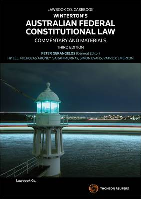Winterton's Australian Federal Constitutional Law : Commentary & Materials