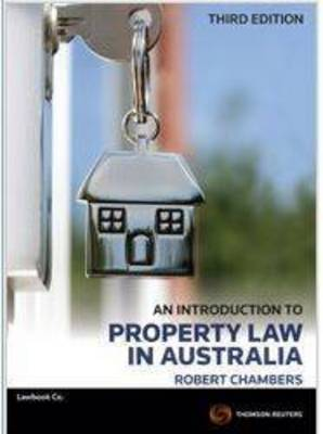 An Intro to Property Law in Aus 3e