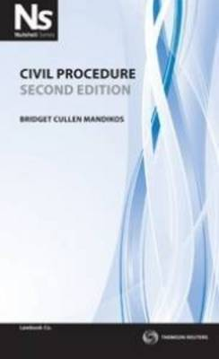 Nutshell: Civil Procedure 3rd Ed.