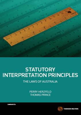 Statutory Interpretation Principles 1e