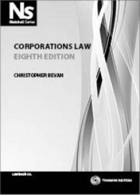 Nutshell: Corporations Law 8e