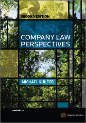 Company Law Perspectives 2nd edition