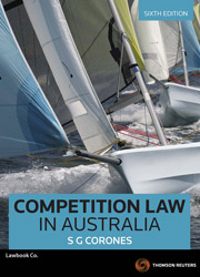 Competition Law in Australia 6e