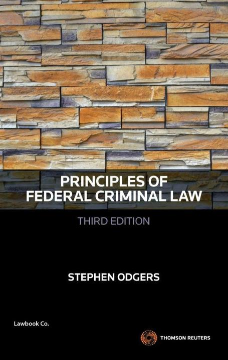 Principles of Federal Criminal Law 3rd Edition