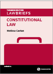 LawBriefs: Constitutional Law 1e