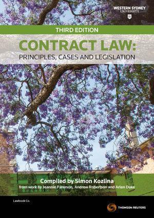 Contract Law 3e for UWS bkshop ebundle