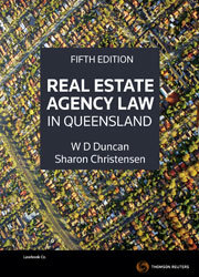 Real Estate Agency Law in QLD 5e