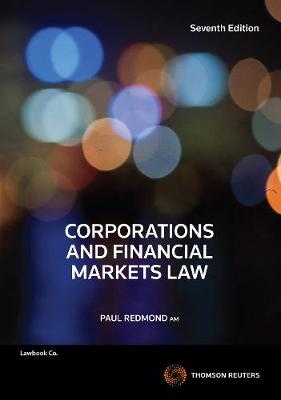 Corporations & Financial Markets Law