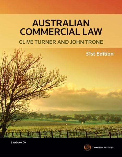 Australian Commercial Law 31st Edition