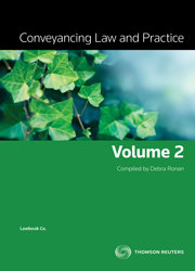Conveyancing Law and Practice Vol 2