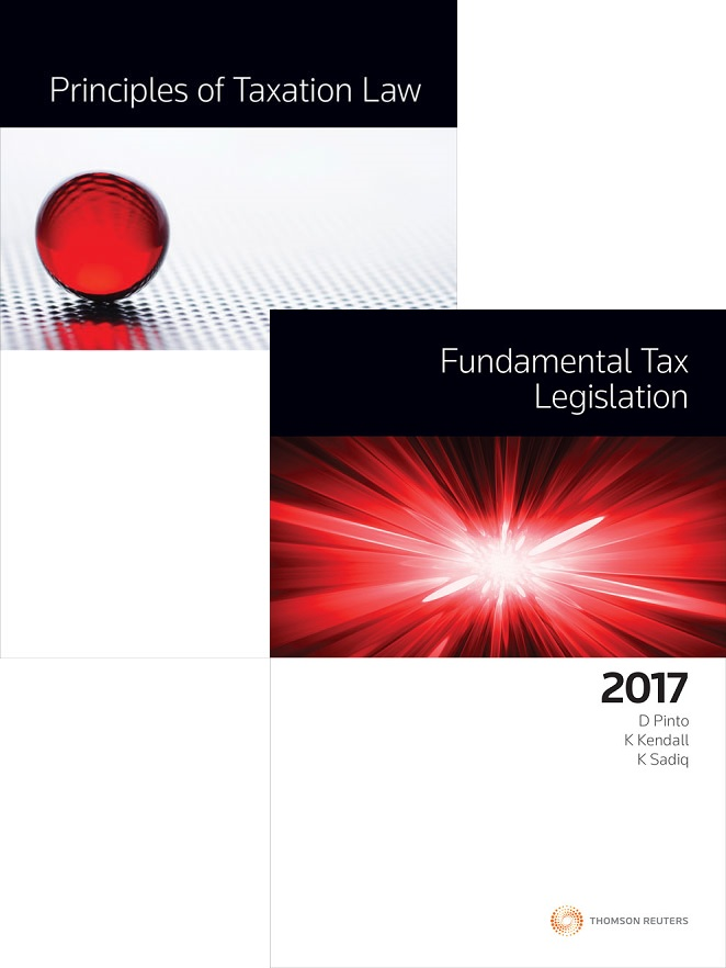 Tax Kit 2 2017 (Fundamental Tax Legislation 2017 + Principles of Taxation Law 2017)