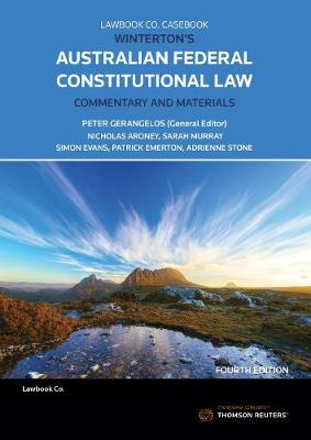 Winterton's Australian Federal Constitutional Law Commentary & Materials