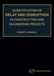 Quantification of Delay and Disruption in Construction and Engineering Projects