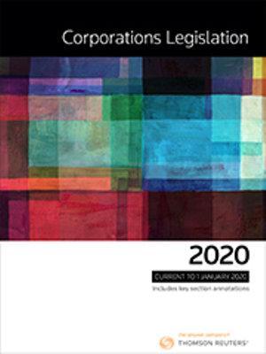 Corporations Legislation 2020