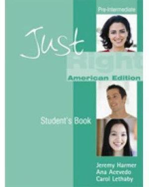 Just Right Pre-Intermediate: Split A Workbook with Audio CD (US)