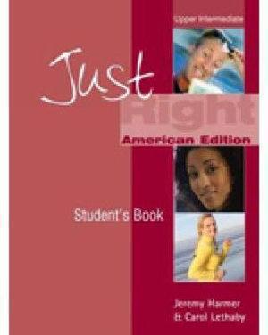 Just Right Upper Intermediate: Split B Workbook with Audio CD (US)