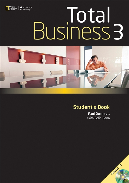 Total Business 3 Student Book with CD