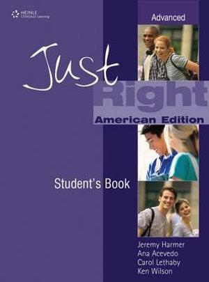 Just Right Advanced: Workbook with Audio CD