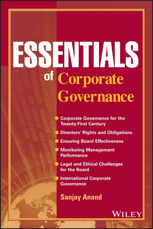Essentials of Corporate Governance