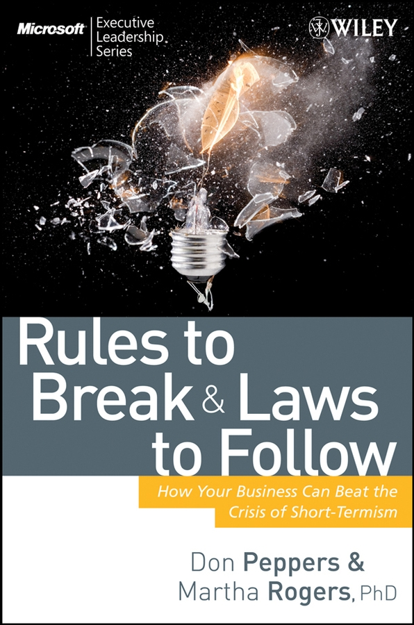 Rules to Break and Laws to Follow