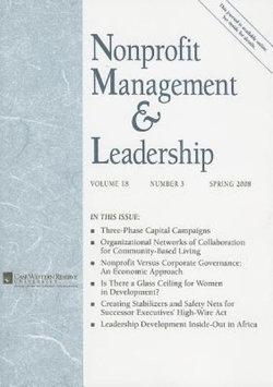 Nonprofit Management and Leadership, Volume 18, Number 3, Spring 2008