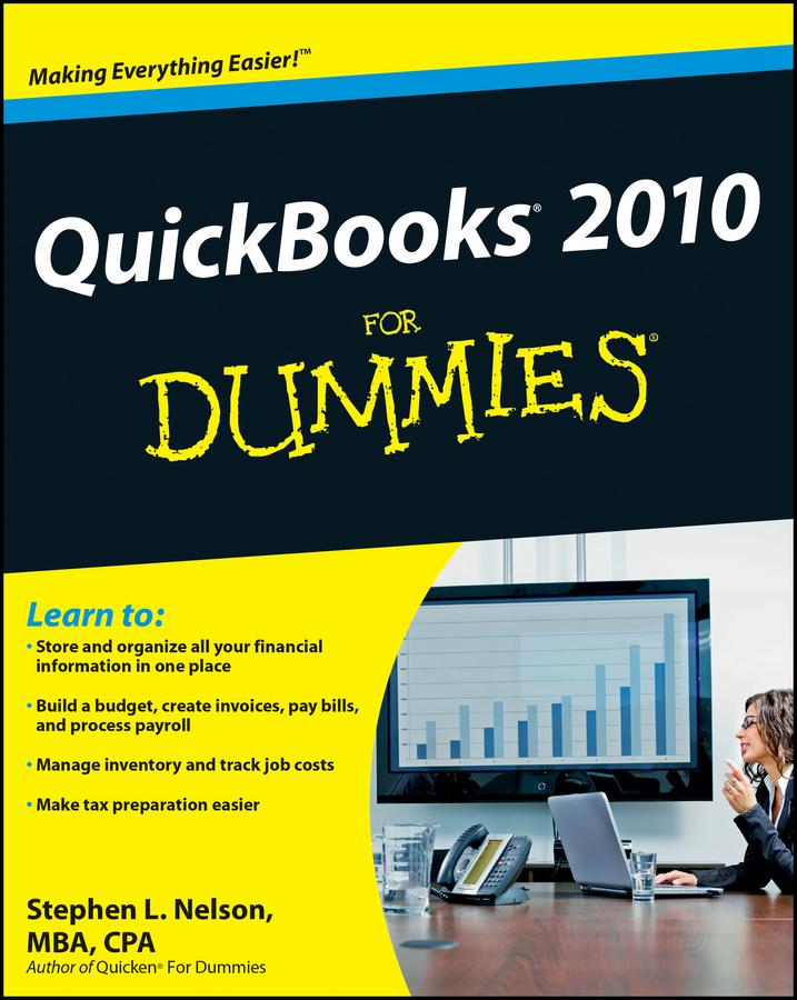 QuickBooks 2010 For Dummies