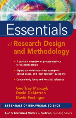 Essentials Of Research Design & Methodology