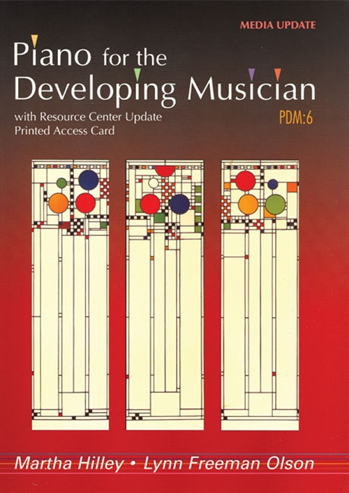 Piano for the Developing Musician, Media Update (with Resource Center  Printed Access Card)