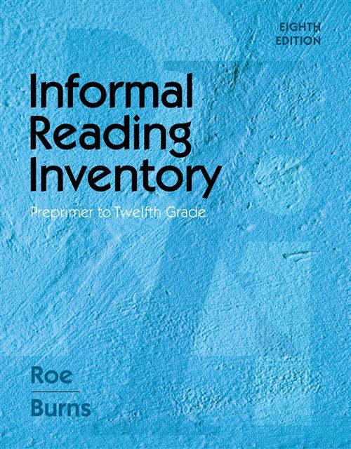 Informal Reading Inventory : Preprimer to Twelfth Grade