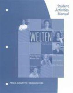 Student Activity Manual for Augustyn/Euba's Welten: Introductory German