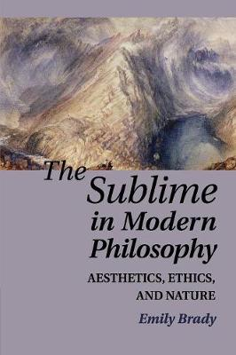 The Sublime in Modern Philosophy: Aesthetics, Ethics, and Nature