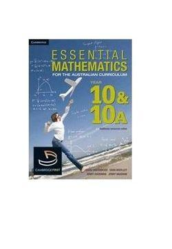 Essential Mathematics for the Australian Curriculum Year 10 and 10A and HOTmaths Bundle