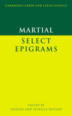 Martial: Select Epigrams