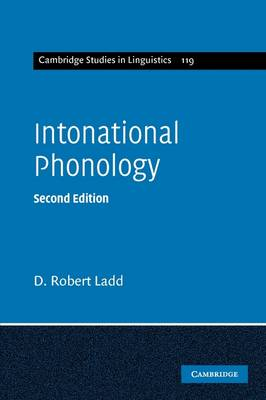 Intonational Phonology