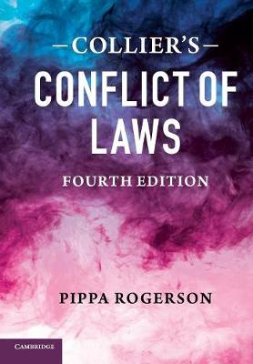 Collier's Conflict of Laws 4ed