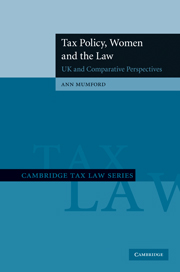 Tax Policy, Women and the Law