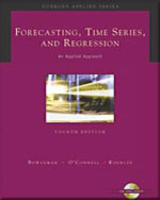 Forecasting Time Series & Regression + CD