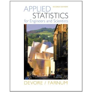Applied Statistics for Scientists and Engineers