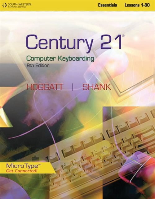 Century 21' Computer Keyboarding, Lessons 1-80