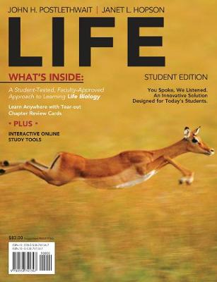 LiFE (with Biology CourseMate with eBook Printed Access Card)