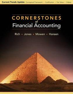 Cornerstones of Financial Accounting, Current Trends Update