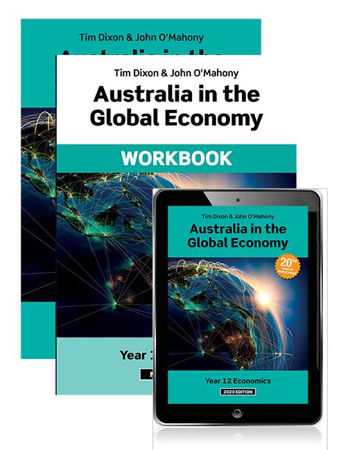 Australia in the Global Economy 2020 Student Book, eBook and Workbook
