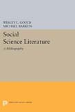 Social Science Literature: A Bibliography