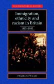 Immigration, Ethnicity And Racism In Britain: 1815-1945 (POD)