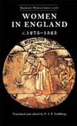 Women In England 1275–1525: Documentary Sources (POD)
