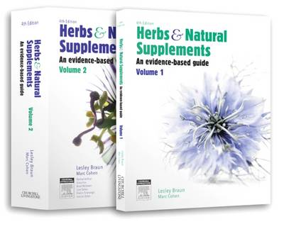 Herbs and Natural Supplements, 2-Volume set, 4th Edition