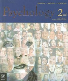 Psychology 3rd Australian and New Zealand Edition + SG + Interactive App to Writing Essays 3E +Cyberpsych Multimedia CD-ROM Version 3.0