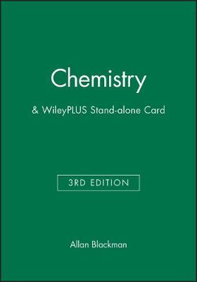 Chemistry 3e & WileyPLUS Stand-alone Card